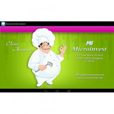 Microinvest Order Assistant для Android